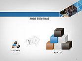 Abstract Triangular Geometric Design PowerPoint Template#13