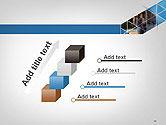 Abstract Triangular Geometric Design PowerPoint Template#14