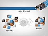 Abstract Triangular Geometric Design PowerPoint Template#17