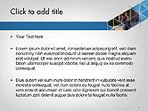 Abstract Triangular Geometric Design PowerPoint Template#2