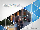 Abstract Triangular Geometric Design PowerPoint Template#20