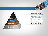 Abstract Triangular Geometric Design PowerPoint Template#4