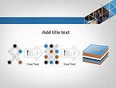 Abstract Triangular Geometric Design PowerPoint Template#9
