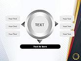 CEO Award Blank PowerPoint Template#12