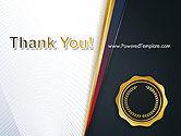 CEO Award Blank PowerPoint Template#20