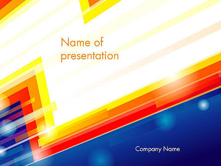 Abstract/Textures: Abstract Energy Power PowerPoint Template #14485