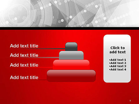 Scientific Future Technology Abstract PowerPoint Template Slide 8