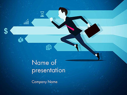 Competitive Business PowerPoint Template, 14488, Business Concepts — PoweredTemplate.com