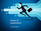 Business Concepts: Competitive Business PowerPoint Template #14488