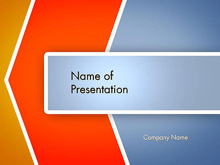 Abstract Angular Pattern PowerPoint Template