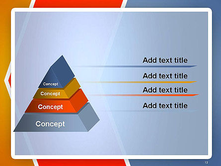 Abstract Angular Pattern PowerPoint Template Slide 12