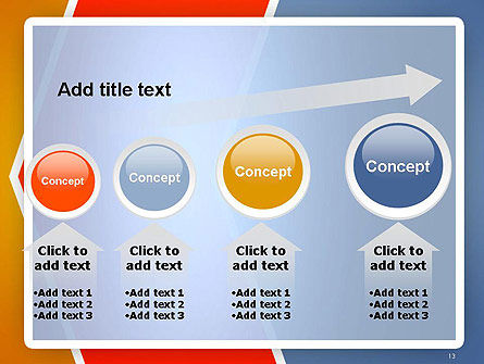 Abstract Angular Pattern PowerPoint Template Slide 13