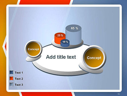 Abstract Angular Pattern PowerPoint Template Slide 16