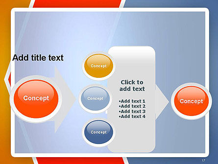 Abstract Angular Pattern PowerPoint Template Slide 17