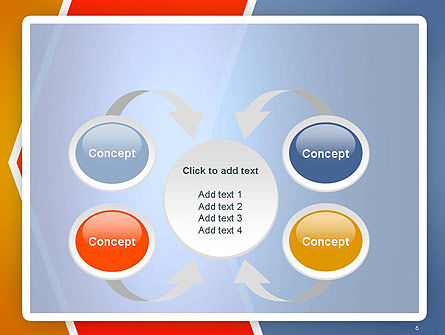 Abstract Angular Pattern PowerPoint Template Slide 6