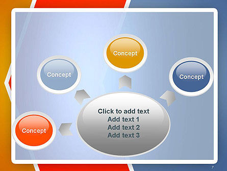 Abstract Angular Pattern PowerPoint Template Slide 7