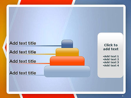 Abstract Angular Pattern PowerPoint Template Slide 8