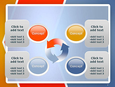 Abstract Angular Pattern PowerPoint Template Slide 9
