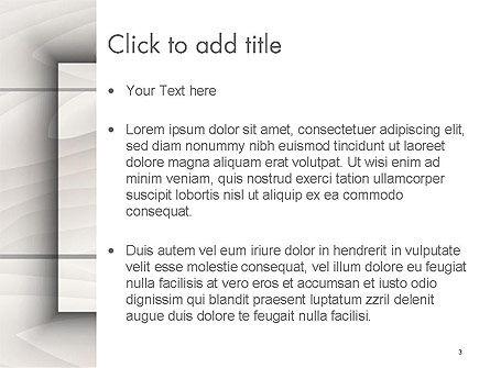 Gray Wooden Texture PowerPoint Template, Slide 3, 14498, Abstract/Textures — PoweredTemplate.com