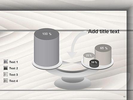 Gray Wooden Texture PowerPoint Template Slide 10