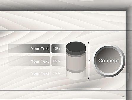 Gray Wooden Texture PowerPoint Template Slide 11