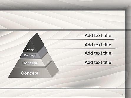 Gray Wooden Texture PowerPoint Template Slide 12