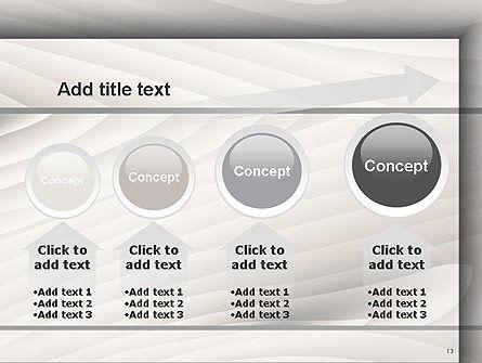 Gray Wooden Texture PowerPoint Template Slide 13