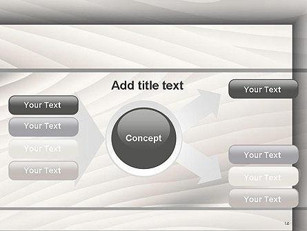 Gray Wooden Texture PowerPoint Template Slide 14