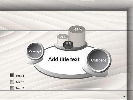Gray Wooden Texture PowerPoint Template Slide 16