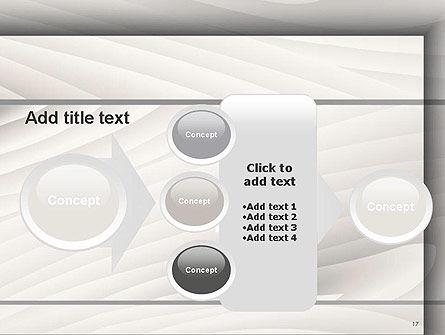 Gray Wooden Texture PowerPoint Template Slide 17