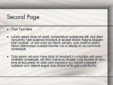 Gray Wooden Texture PowerPoint Template, Slide 2, 14498, Abstract/Textures — PoweredTemplate.com