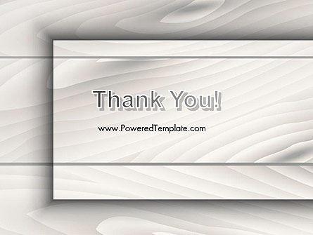 Gray Wooden Texture PowerPoint Template Slide 20