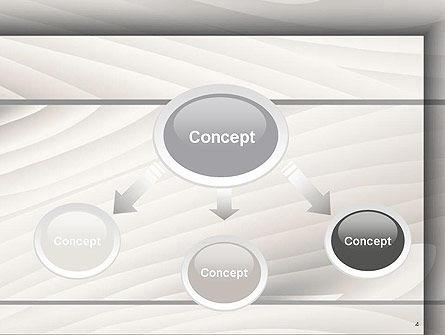 Gray Wooden Texture PowerPoint Template, Slide 4, 14498, Abstract/Textures — PoweredTemplate.com