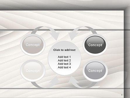 Gray Wooden Texture PowerPoint Template Slide 6