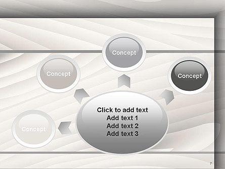 Gray Wooden Texture PowerPoint Template Slide 7