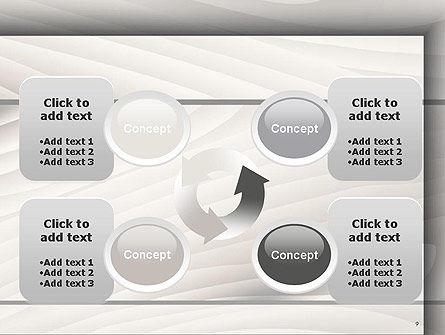 Gray Wooden Texture PowerPoint Template Slide 9