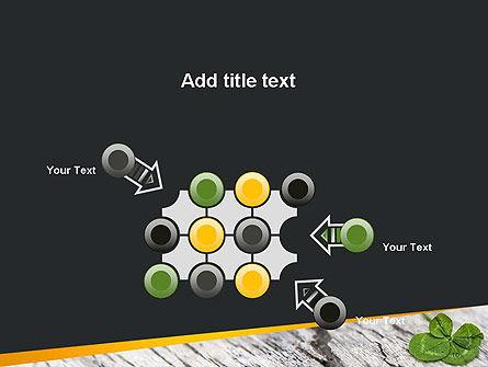 Four-Leaf Clover PowerPoint Template Slide 10