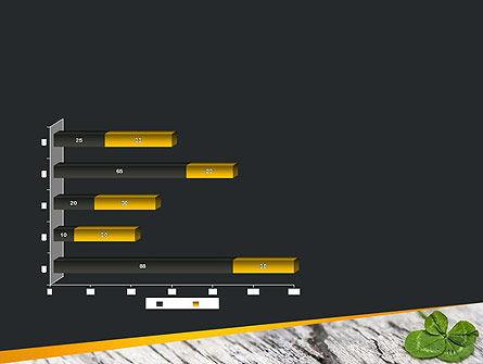 Four-Leaf Clover PowerPoint Template Slide 11