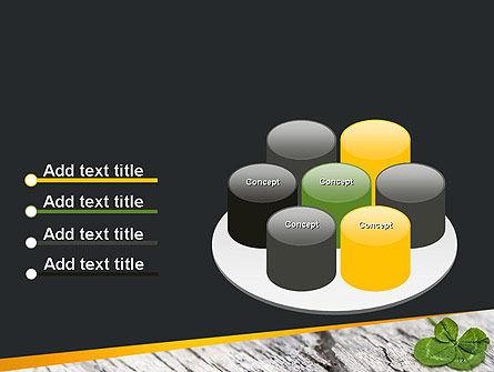 Four-Leaf Clover PowerPoint Template Slide 12