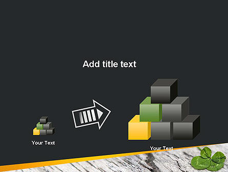 Four-Leaf Clover PowerPoint Template Slide 13