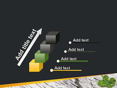 Four-Leaf Clover PowerPoint Template Slide 14