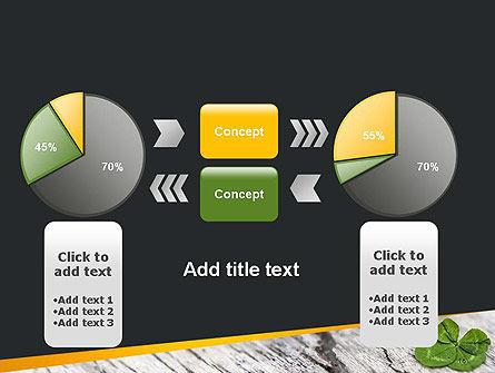 Four-Leaf Clover PowerPoint Template Slide 16