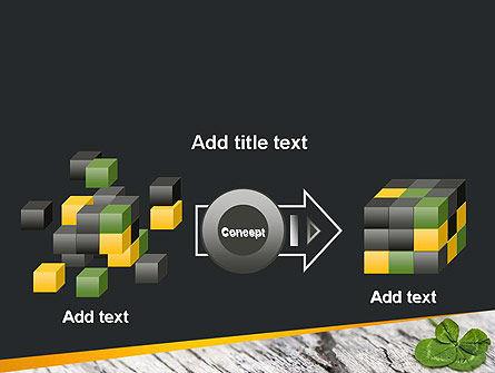 Four-Leaf Clover PowerPoint Template Slide 17