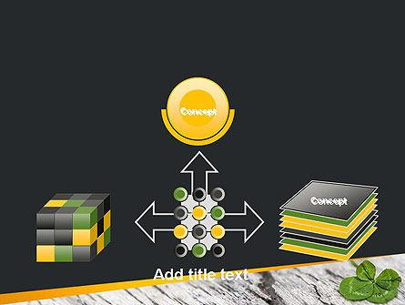 Four-Leaf Clover PowerPoint Template Slide 19