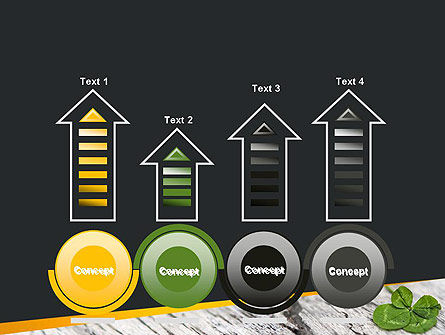 Four-Leaf Clover PowerPoint Template Slide 7