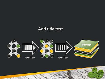 Four-Leaf Clover PowerPoint Template Slide 9