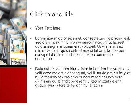 Money Heap PowerPoint Template, Slide 3, 14504, Financial/Accounting — PoweredTemplate.com