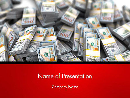 Money Heap PowerPoint Template