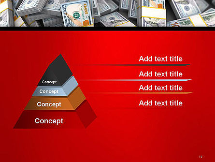 Money Heap PowerPoint Template Slide 12