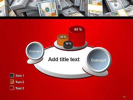 Money Heap PowerPoint Template Slide 16